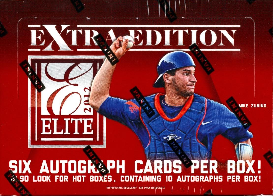 2012 Panini Elite Extra Edition Baseball Hobby Box