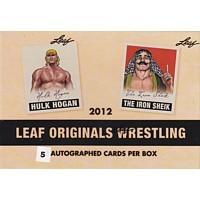 2012 Leaf Originals Wrestling Hobby 12 Box Case