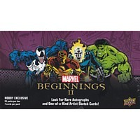 2012 Marvel Beginnings II TC Hobby Box