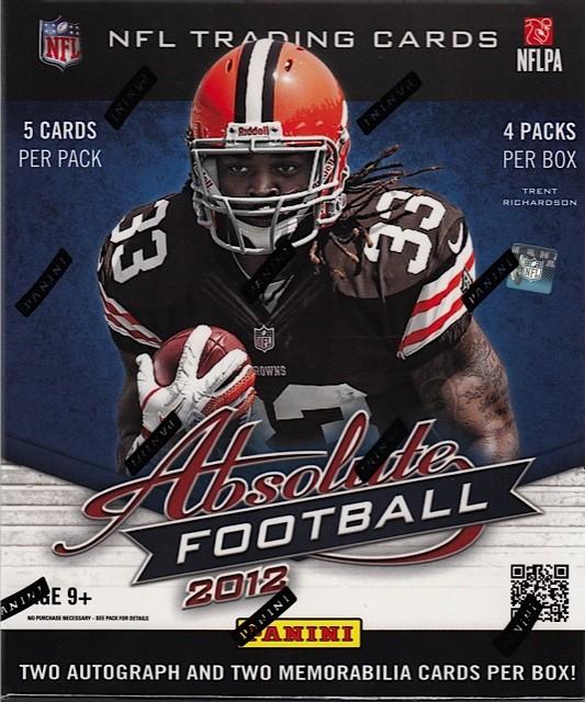 2012 Panini Absolute Memorabilia Football Hobby Box