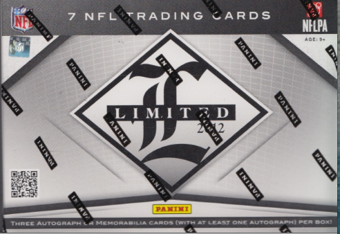2012 Panini Limited Football Hobby Box