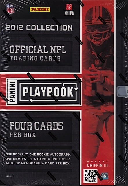 2012 Panini Playbook Football Hobby 10 Box Case