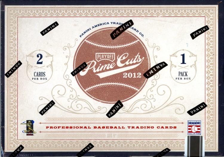 2012 Playoff Prime Cuts Baseball Hobby Box