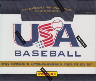 2012 Panini USA Baseball Hobby Set 10 Box Case