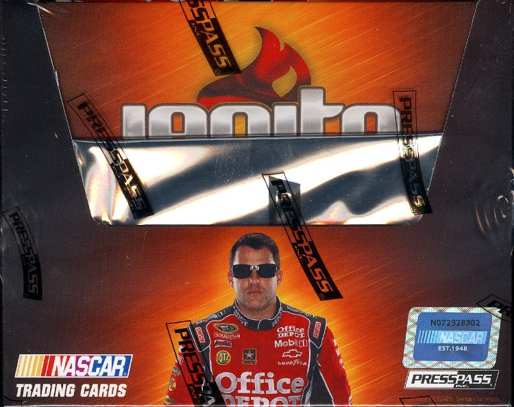 2012 Press Pass Ignite Racing Hobby 20 Box Case