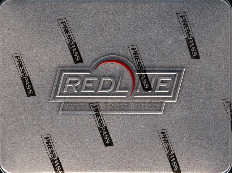 2012 Press Pass Redline Racing Hobby 10 Box Case