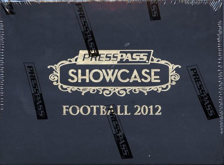 2012 Press Pass Showcase Football Hobby 10 Box Case