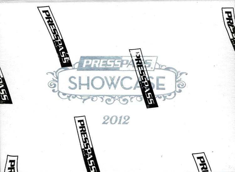 2012 Press Pass Showcase Racing Hobby Box