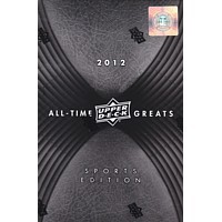 2012 Upper Deck All Time Greats Sports Edition Hobby Box