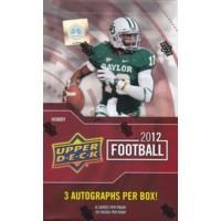 2012 Upper Deck Football Hobby 12 Box Case