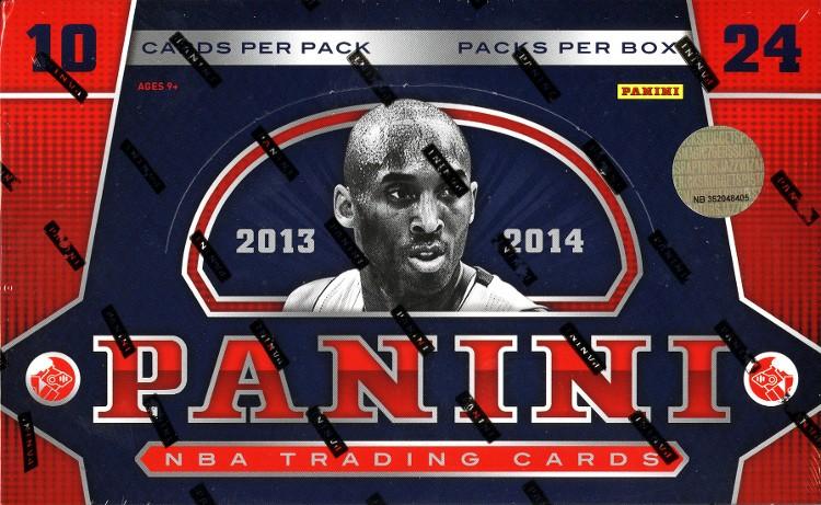 2013/14 Panini Basketball Hobby Box