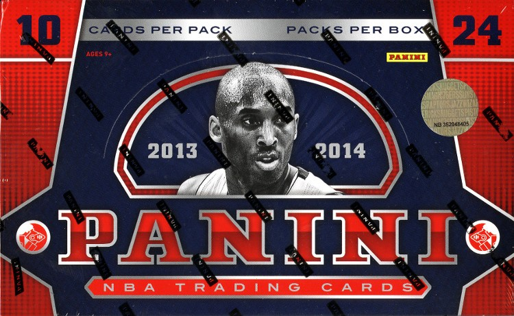 2013/14 Panini Basketball Hobby 12 Box Case