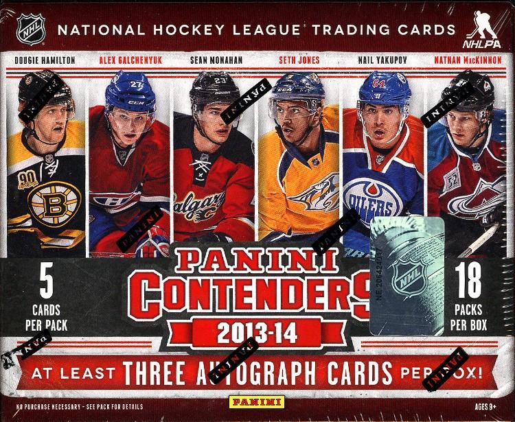 2013/14 Panini Contenders Hockey Hobby Box