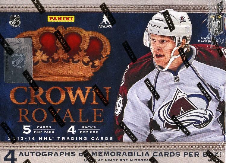 2013/14 Panini Crown Royale Hockey Hobby 12 Box Case