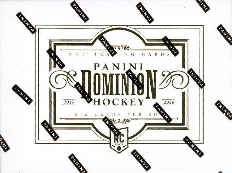 2013/14 Panini Dominion Hockey Hobby 8 Box Case