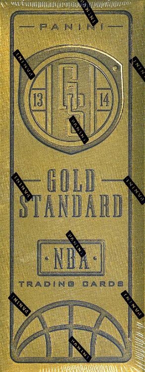 2013/14 Panini Gold Standard Basketball Hobby 10 Box Case