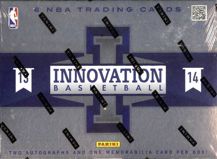 2013/14 Panini Innovation Basketball Hobby 15 Box Case