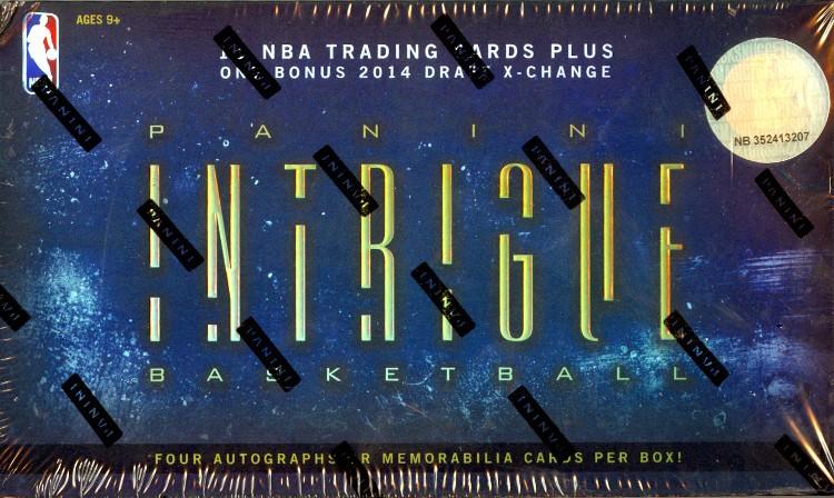 2013/14 Panini Intrigue Basketball Hobby 10 Box Case