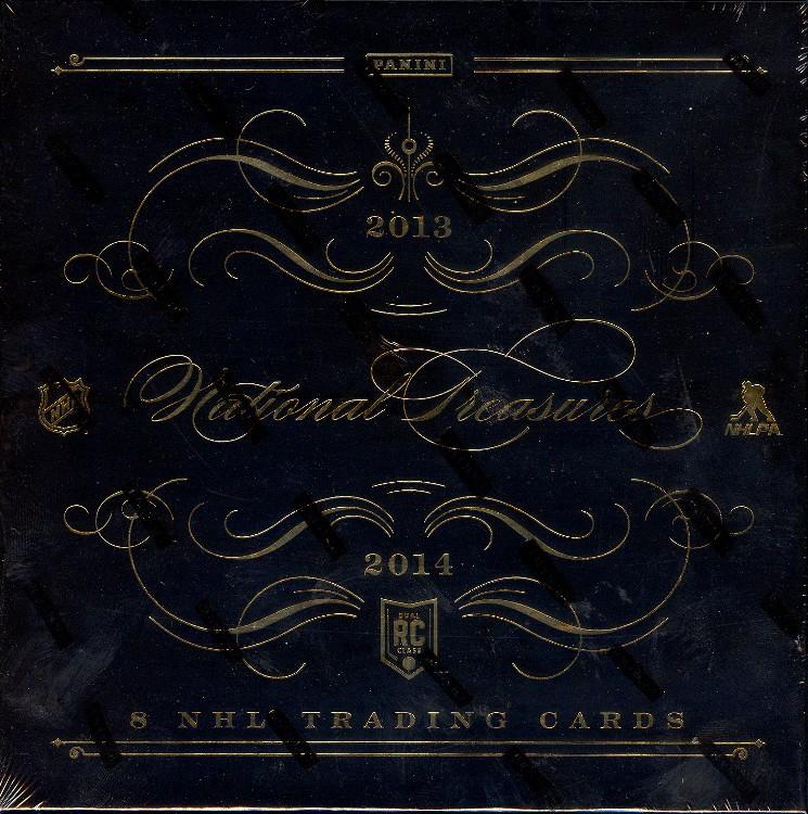 2013/14 Panini National Treasures Hockey Hobby 4 Box Case