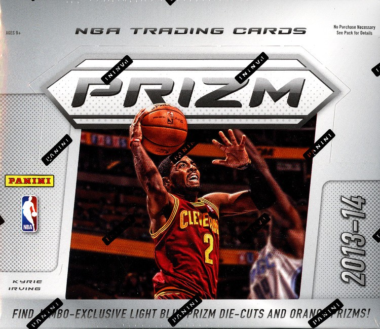 2013/14 Panini Prizm Basketball Jumbo 8 Box Case