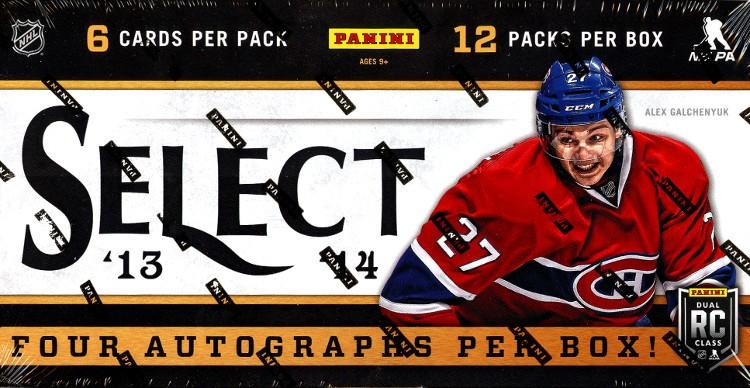 2013/14 Panini Select Hockey Hobby 12 Box Case