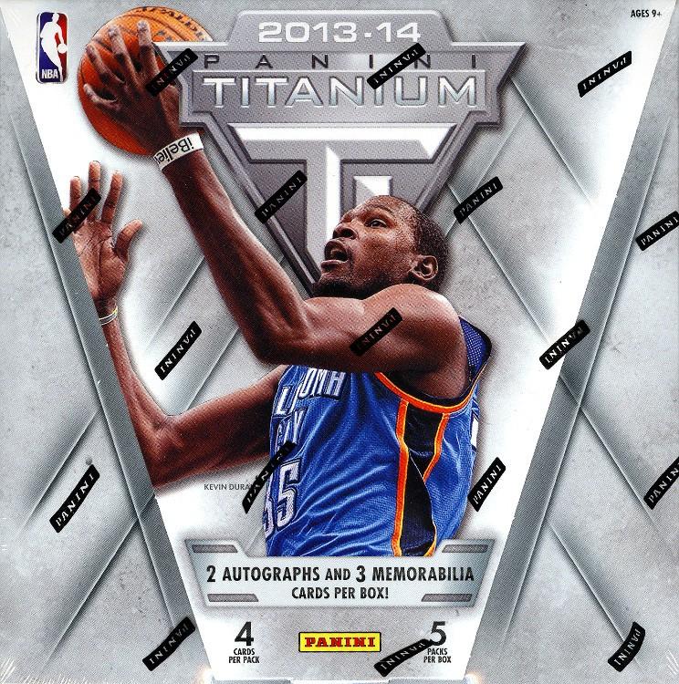 2013/14 Panini Titanium Basketball Hobby Box