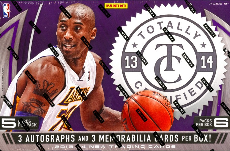 2013/14 Panini Totally Certified Basketball Hobby Box