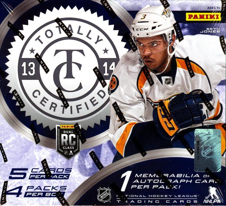 2013/14 Panini Totally Certified Hockey Hobby 12 Box Case