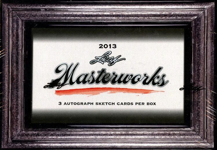 2013 Leaf Masterworks 6 Box Case