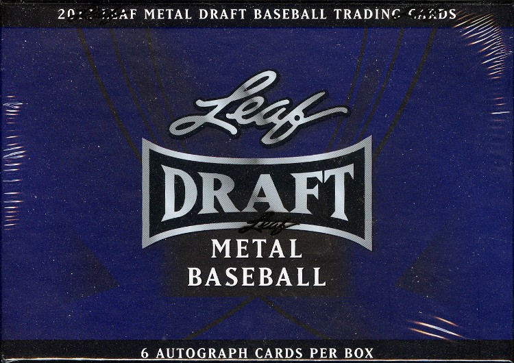 2013 Leaf Metal Draft Baseball Hobby 12 Box Case