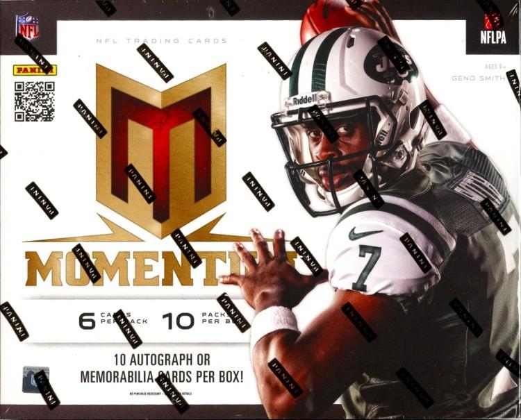 2013 Panini Momentum Football Hobby 10 Box Case