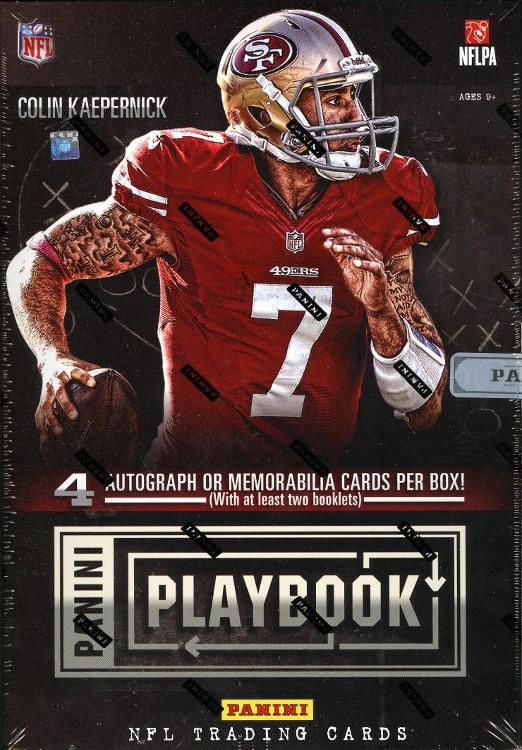 2013 Panini Playbook Football Hobby 10 Box Case