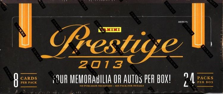 2013 Panini Prestige Football Hobby 12 Box Case