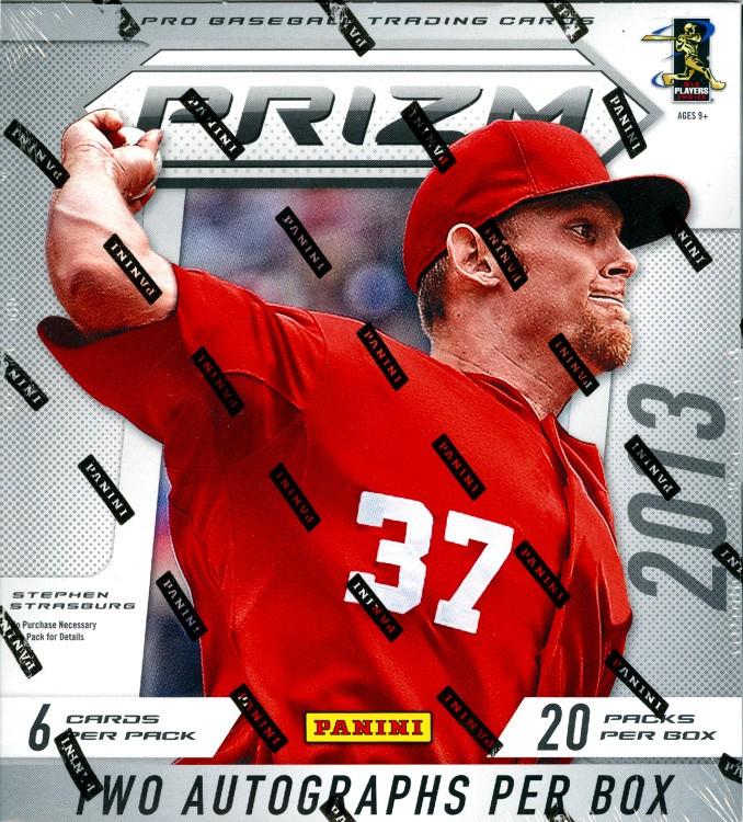 2013 Panini Prizm Baseball Hobby 12 Box Case
