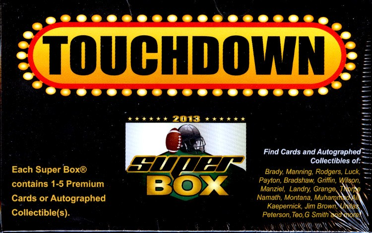 2013 Super Box Football Box