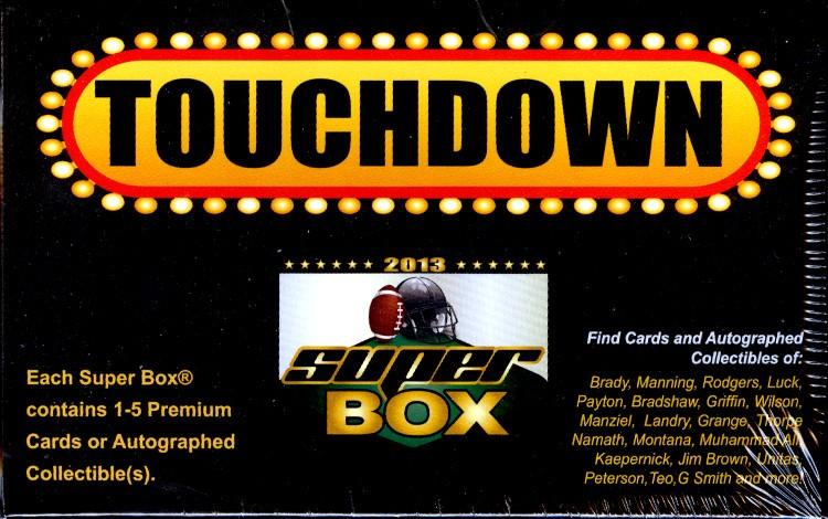 2013 Super Box Football 5 Box Case