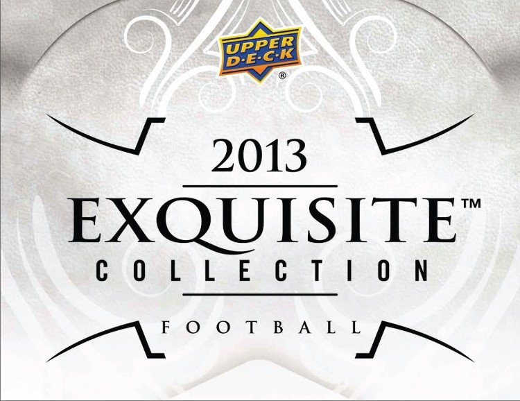 2013 Upper Deck Exquisite Football Hobby 3 Box Case