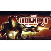 2013 Upper Deck Marvel Iron Man 3 Trading Cards Hobby 12 Box Case