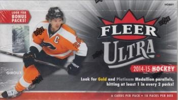 2014/15 Fleer Ultra Hockey Hobby 16 Box Case