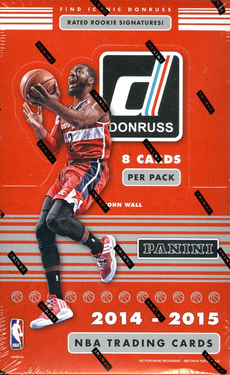 2014/15 Panini Donruss Basketball Hobby 20 Box Case
