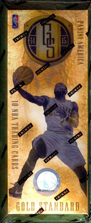 2014/15 Panini Gold Standard Basketball Hobby 10 Box Case