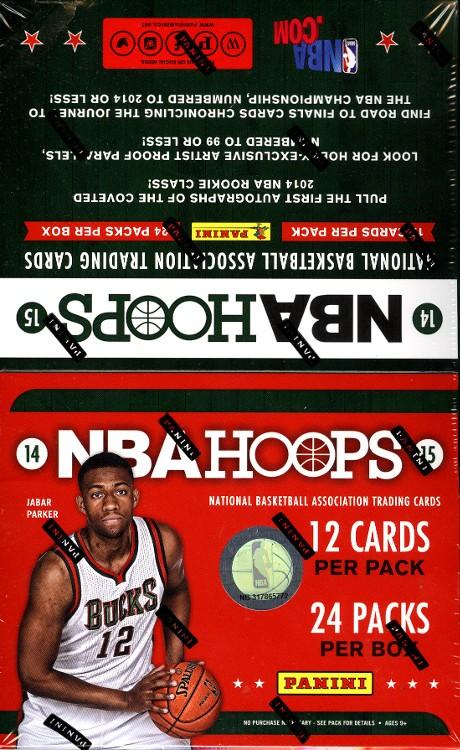 2014/15 Panini NBA Hoops Basketball Hobby 20 Box