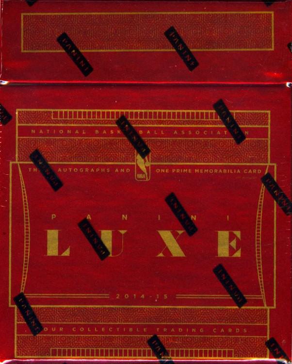 2014/15 Panini LUXE Basketball Hobby 5 Box Case