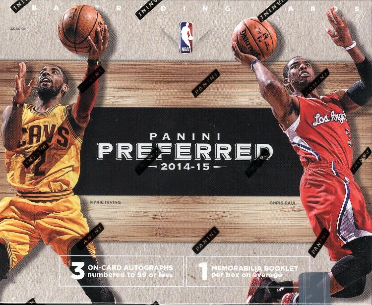 2014/15 Panini Preferred Basketball Hobby 10 Box Case