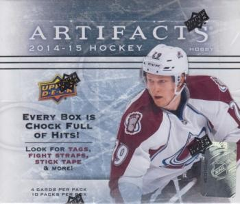 2014/15 Upper Deck Artifacts Hockey Hobby 16 Box Case