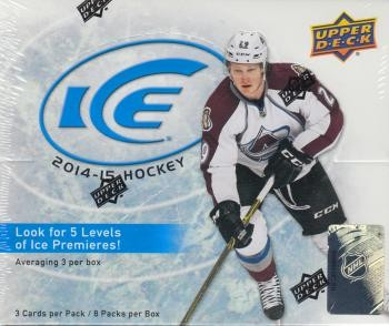 2014/15 Upper Deck Ice Hobby Hockey 16 Box Case