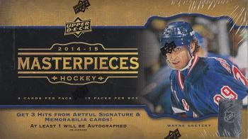 2014/15 Upper Deck Masterpieces Hobby Hockey 20 Box Case