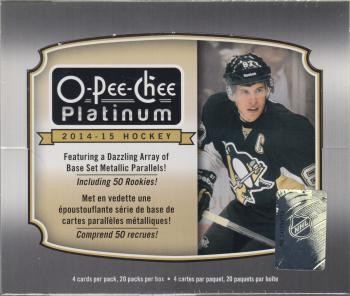 2014/15 Upper Deck OPC Platinum Hobby Hockey 16 Box Case