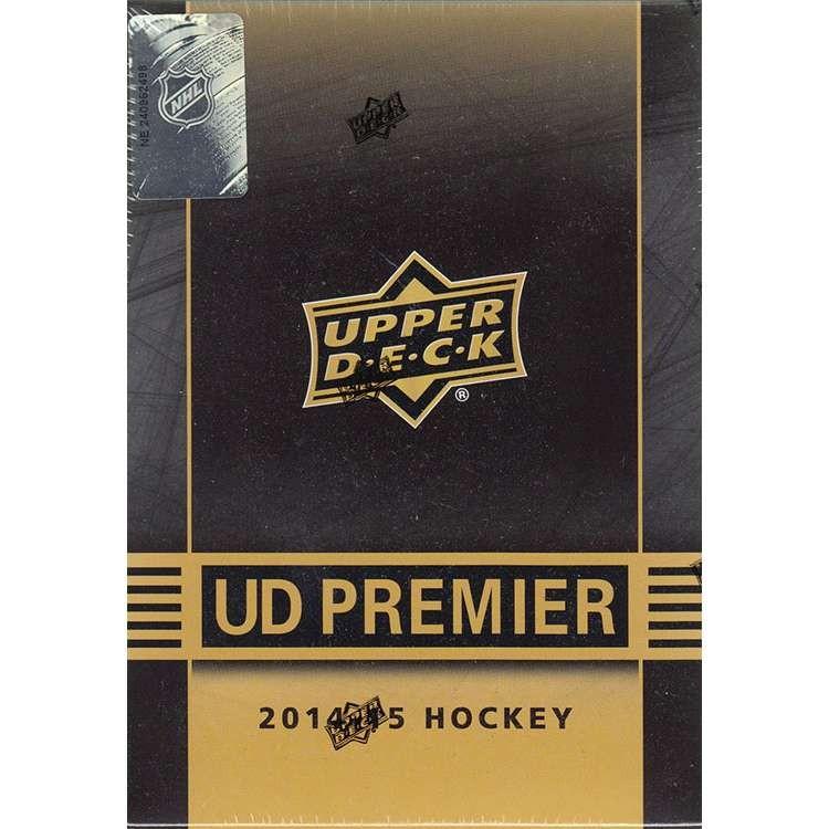 2014/15 Upper Deck Premier Hobby Hockey 5 Box Case