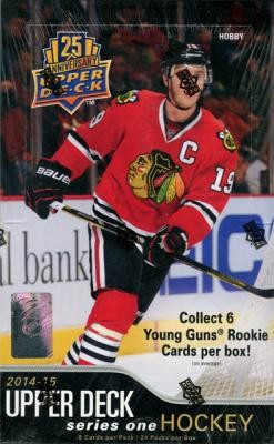 2014/15 Upper Deck Series 1 Hockey Hobby 12 Box Case
